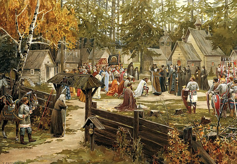 Lissner Ernst - Trinity-Sergius Lavra. 900 Classic russian paintings