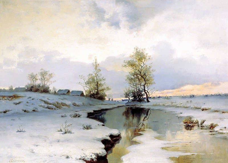 ENDOGUROV Ivan - Early Spring. 900 Classic russian paintings