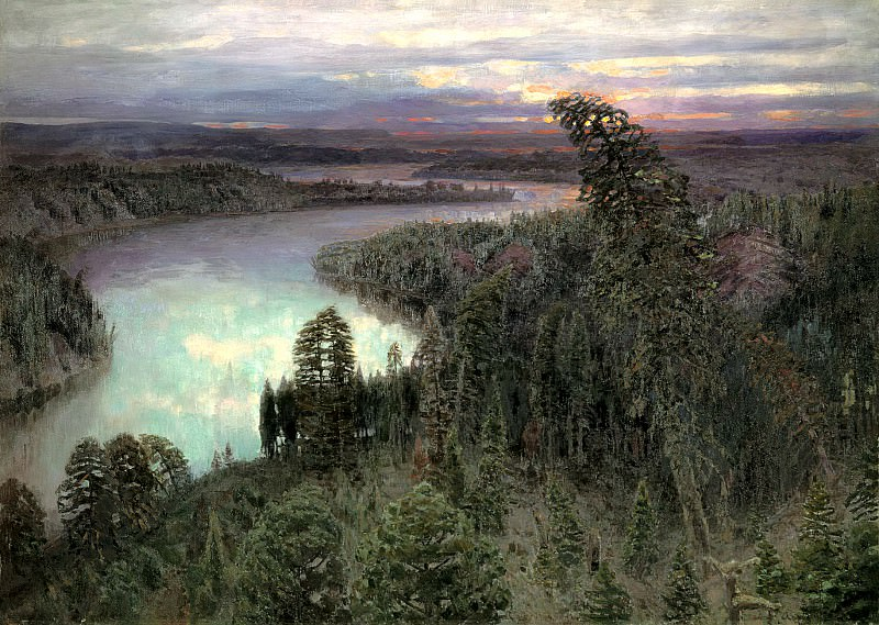 Vasnetsov Apollinary - Northern Territory. 900 Classic russian paintings