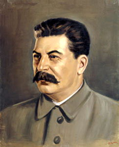 Portraits of Stalin - Peter Pusher. 900 Classic russian paintings