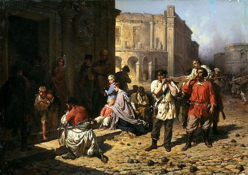 Philip Constantine - in besieged Sevastopol. 900 Classic russian paintings