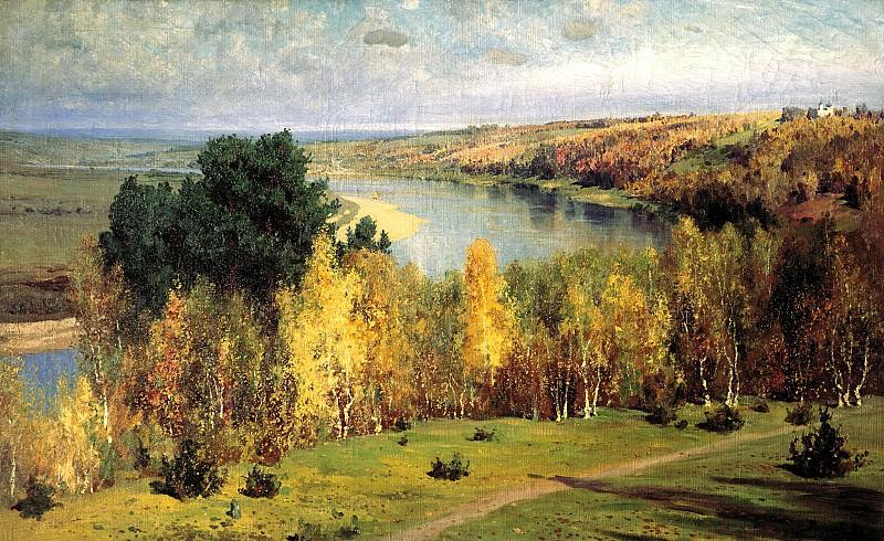 Polenov Vasily - Golden Autumn. 900 Classic russian paintings