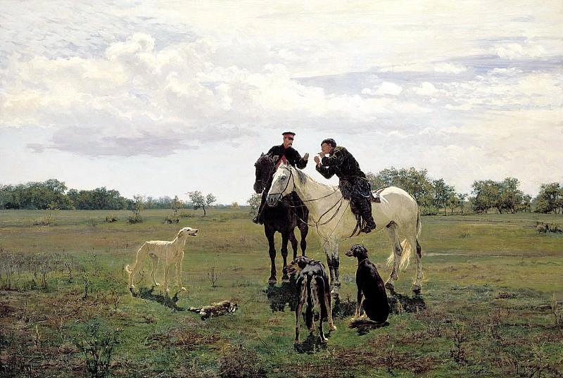KUZNETSOV Nikolai - on leave. 900 Classic russian paintings