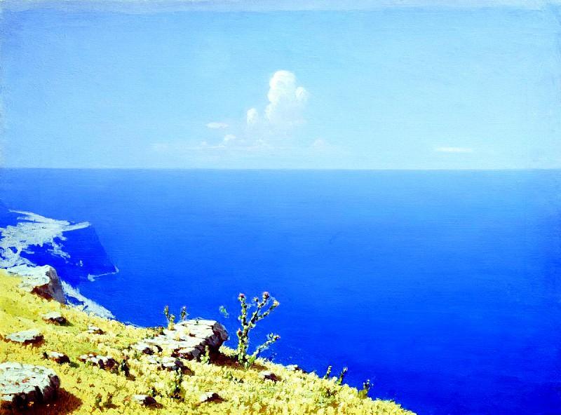 Kuindzhi Arkhip - Sea. Crimea. 900 Classic russian paintings