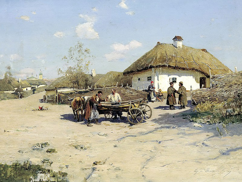 Vasilkovsky Sergey - Okolitsa. 900 Classic russian paintings