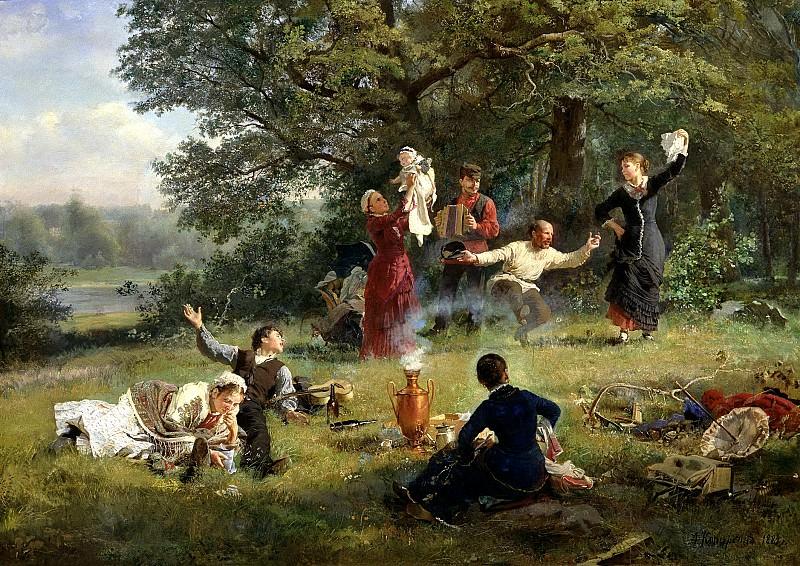 KORZUKHIN Alex - Sunday. 900 Classic russian paintings