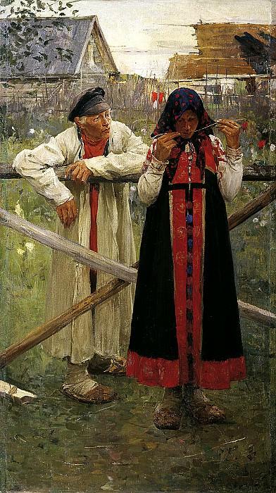 ИВАНОВ Михаил - Ответа жду. 900 Картин самых известных русских художников
