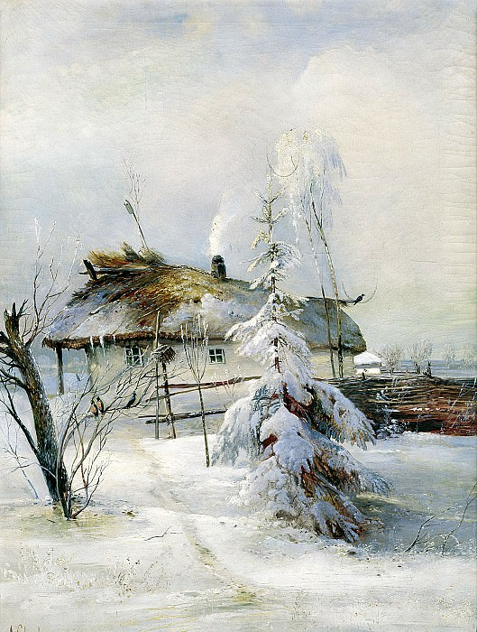 Alexei Savrasov - Winter. 900 Classic russian paintings