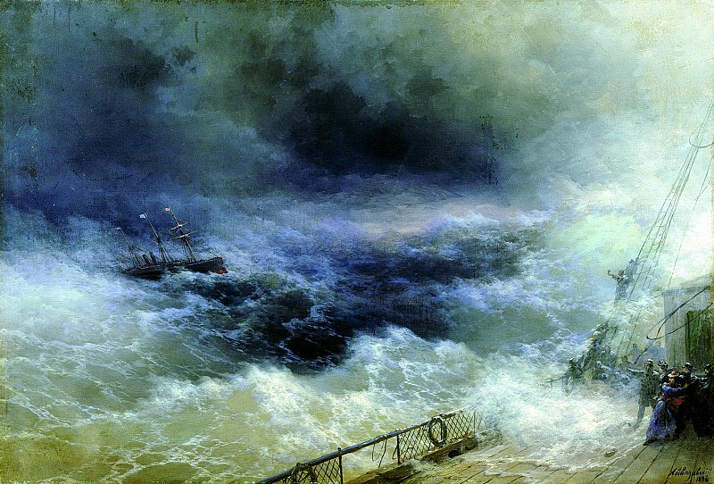 Ivan Aivazovsky - Ocean. 900 Classic russian paintings