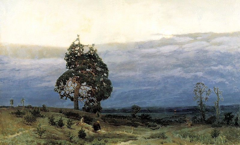 Vasnetsov Apollinary - Twilight. 900 Classic russian paintings