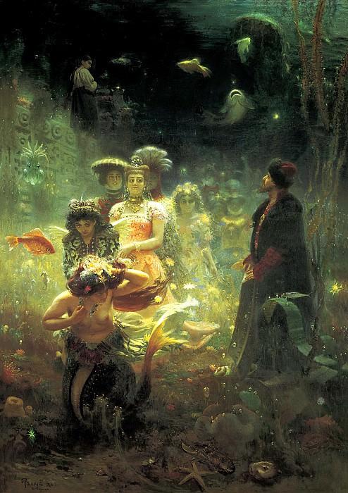 Ilya Repin - Sadko. 900 Classic russian paintings