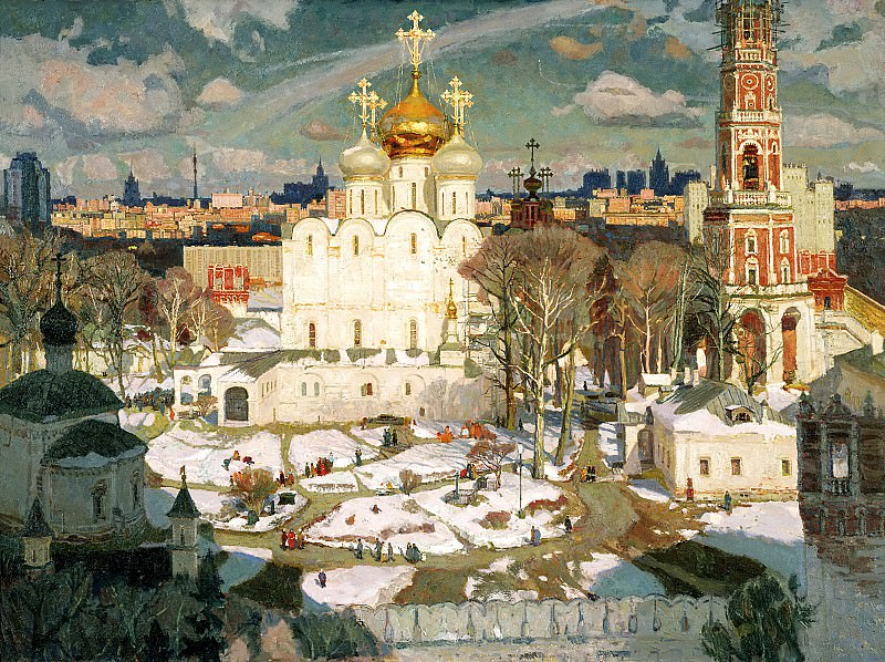 Oksana PAVLOVA - Sunday. 900 Classic russian paintings