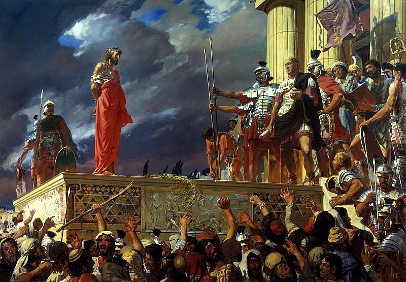 Ivan Glazunov - Crucify him. 900 Classic russian paintings