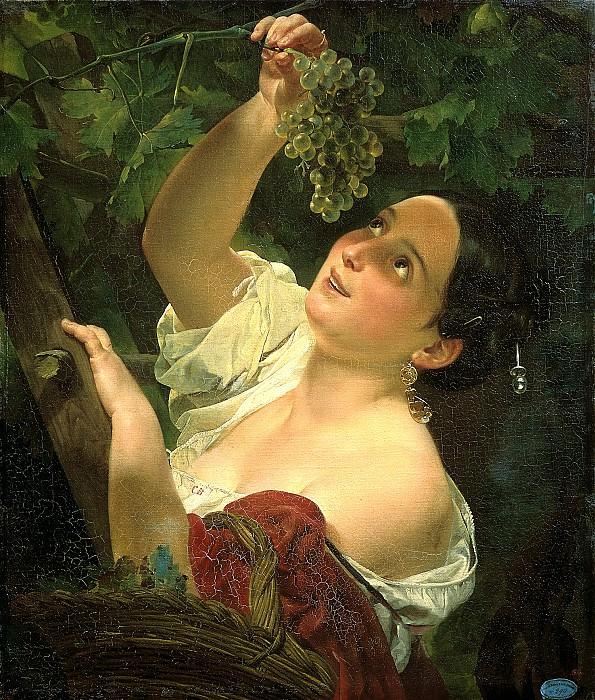 BRYULLOV Karl - Italian noon. 900 Classic russian paintings