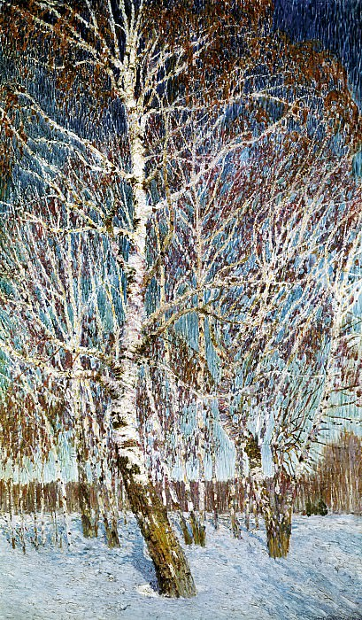 Igor Grabar - February Azure. 900 Classic russian paintings