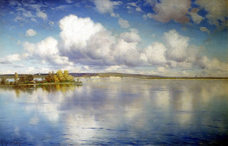 Kryzhitsky Constantine - Lake. 900 Classic russian paintings
