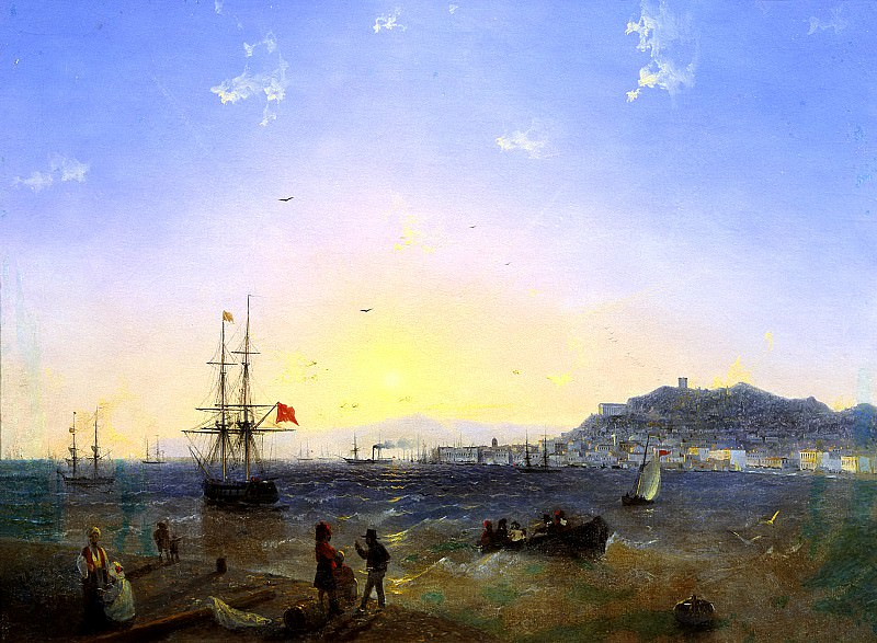 Ivan Aivazovsky - Kerch. 900 Classic russian paintings