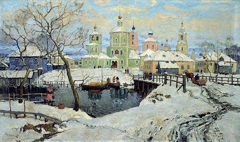 ГОРБАТОВ Константин - Торжок. 900 Картин самых известных русских художников