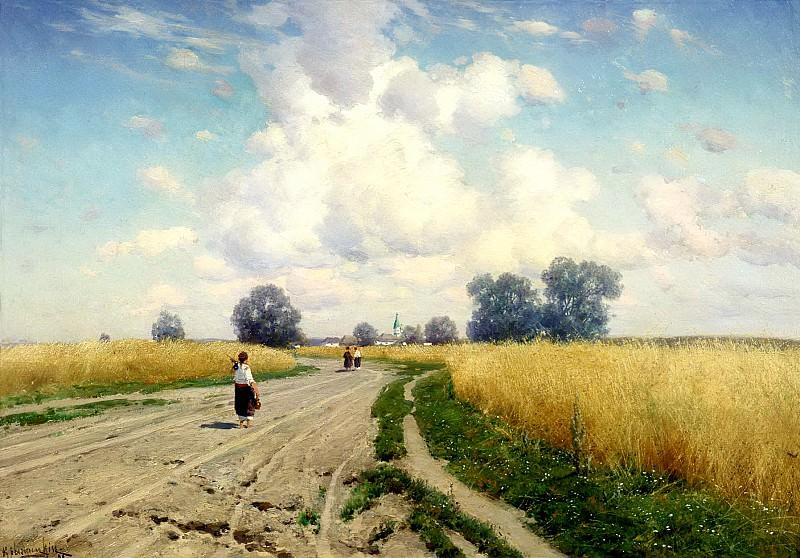 Kryzhitsky Constantine - Road. 900 Classic russian paintings