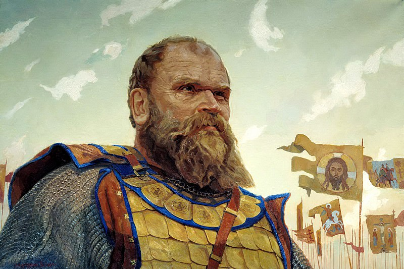 Matorin Victor - Hero of the Kulikov battle. Bobrok Volinsky. 900 Classic russian paintings