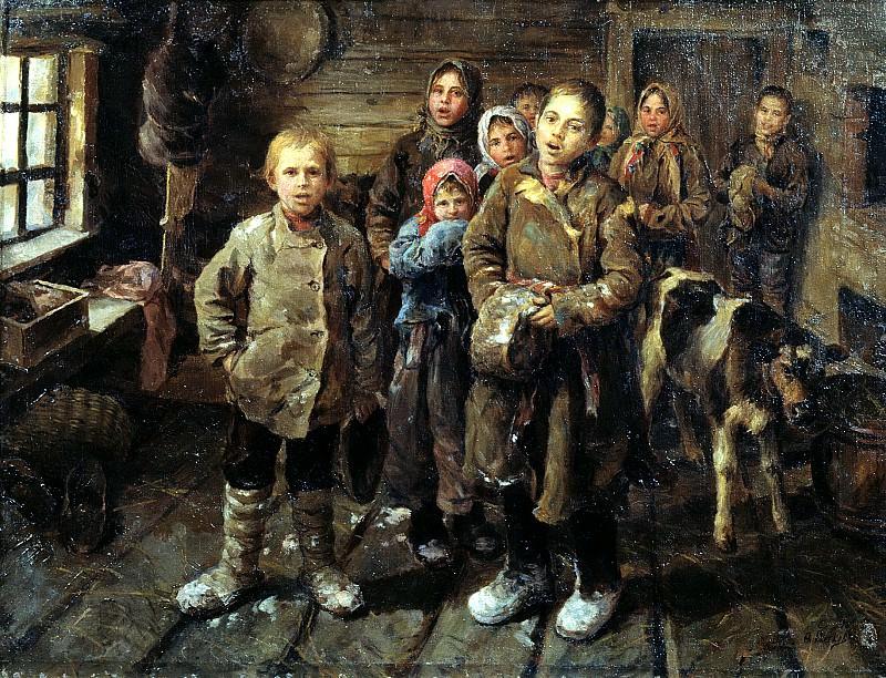 СЫЧКОВ Федот - Христославы. 900 Картин самых известных русских художников