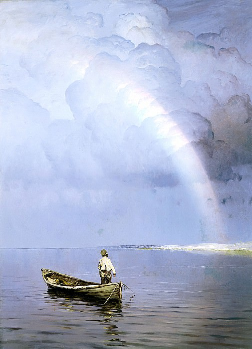 DUBOVSKAYA Nikolay - Rainbow. 900 Classic russian paintings