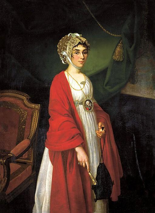Argun Nikolai - Portrait of Countess Sheremetevs. 900 Classic russian paintings