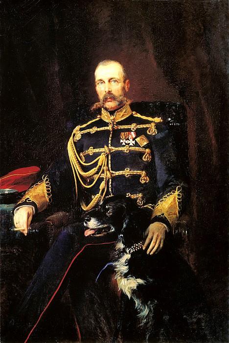 MAKOVSKY Constantin - Portrait of Alexander II. 900 Classic russian paintings