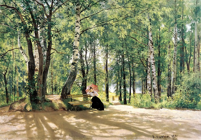 Shishkin Ivan - About Cottage. 900 Classic russian paintings