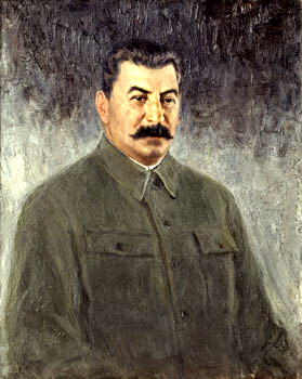 Portraits of Stalin - Peter Kälin. 900 Classic russian paintings