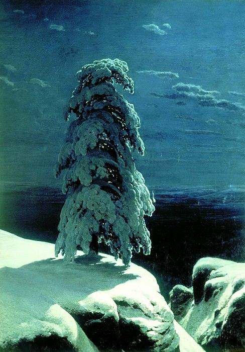 Shishkin Ivan - the northern wilderness .... 900 Classic russian paintings