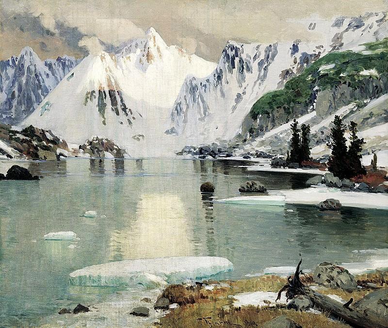 Gurkin Gregory - Lake Mountain Spirits. 900 Classic russian paintings