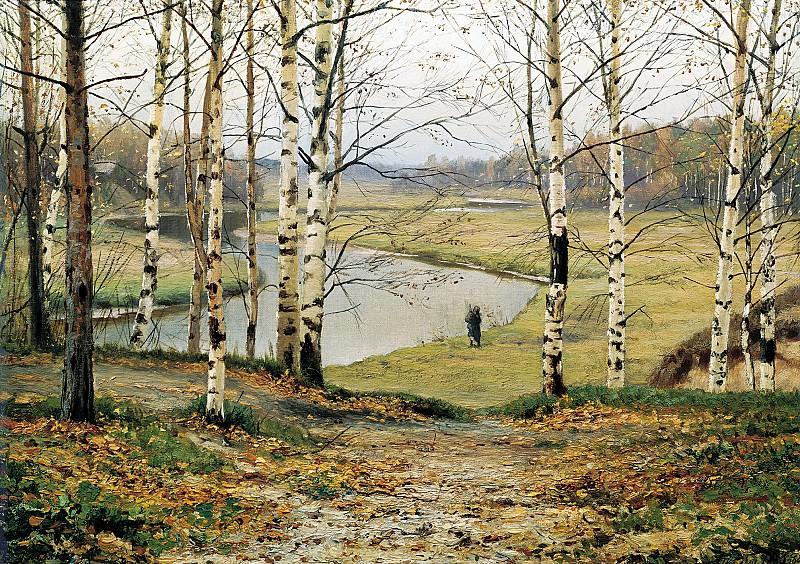 VOLKOV Yefim - October. 900 Classic russian paintings