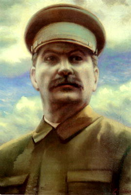 Portraits of Stalin - Clement Redko. 900 Classic russian paintings