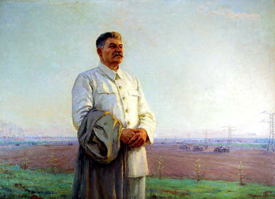 Portraits of Stalin - Fedor Shurpin. 900 Classic russian paintings