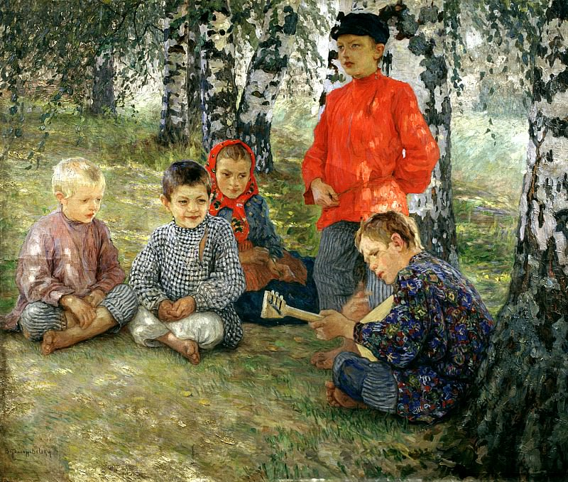 Bogdanov-Belsky Nikolai - Virtuoso. 900 Classic russian paintings