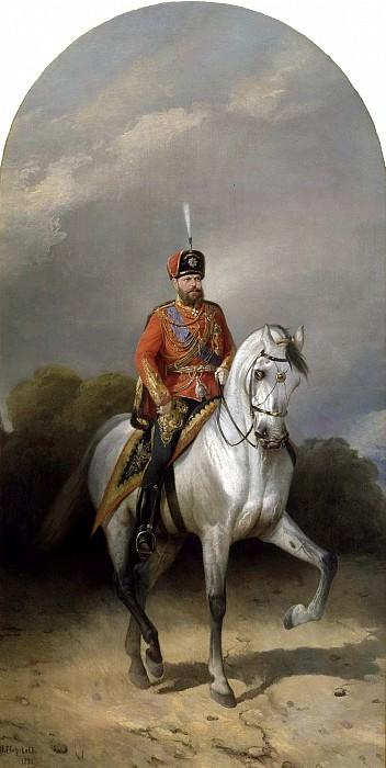 Sverchkov Nicholas - Alexander III. 900 Classic russian paintings