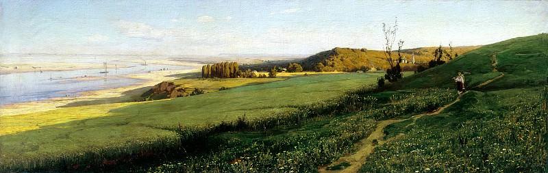 Vladimir Orlovsky - Dnepr. 900 Classic russian paintings