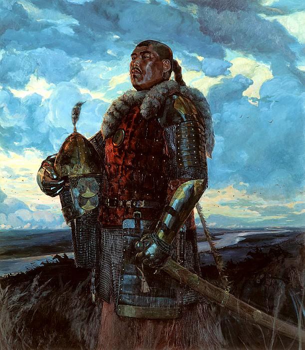 МАТОРИН Виктор - Хан Мамай. 900 Картин самых известных русских художников