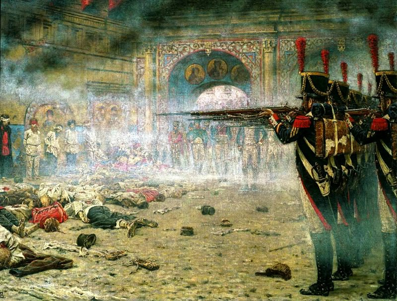Vereshchagin Vasily (Vasilyevich) - Moscow. 1812. 900 Classic russian paintings