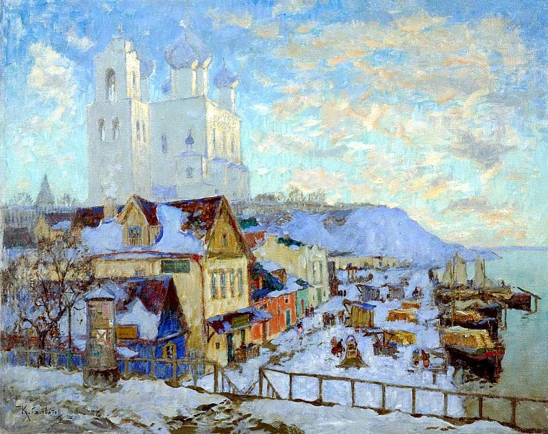 Gorbatov Constantine - Pskov. 900 Classic russian paintings