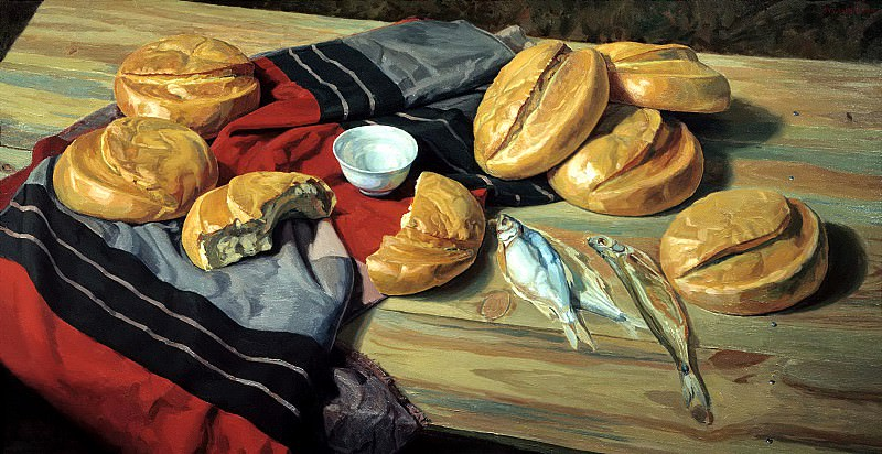 Matorin Victor - Seven loaves. 900 Classic russian paintings