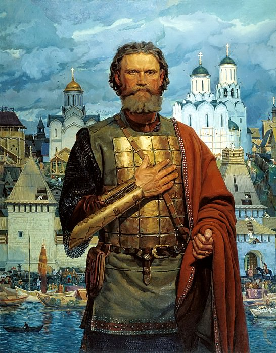 Matorin Victor - Holy pious Great Moscow Prince Dmitry Donskoy. 900 Classic russian paintings
