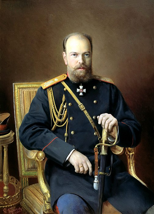 KULIKOV Ivan - Alexander III. 900 Classic russian paintings