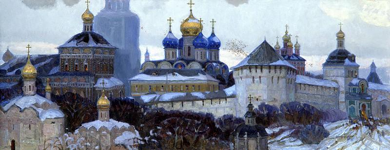 Oksana PAVLOVA - Sergiev Posad. 900 Classic russian paintings