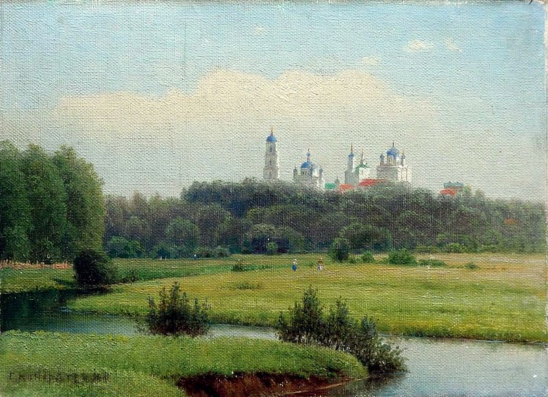 Kondratenko Gabriel - Summer landscape. 900 Classic russian paintings