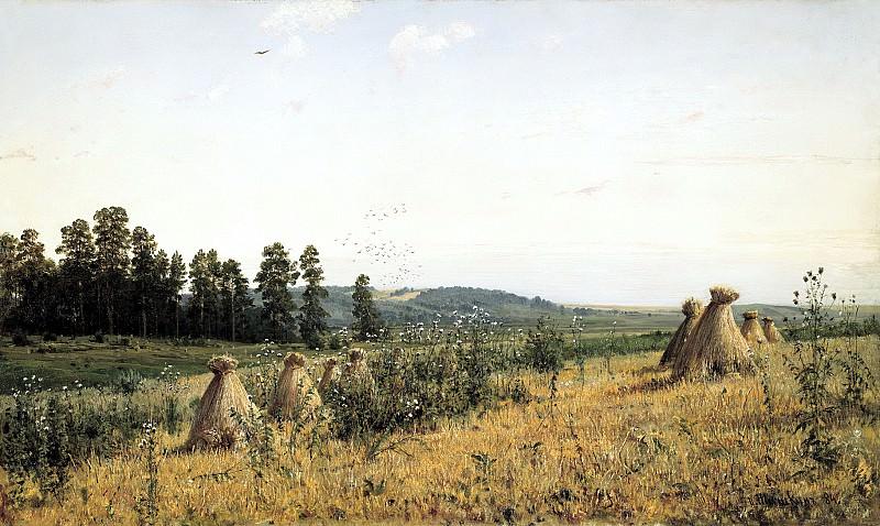 Shishkin Ivan - Landscape Polesie. 900 Classic russian paintings