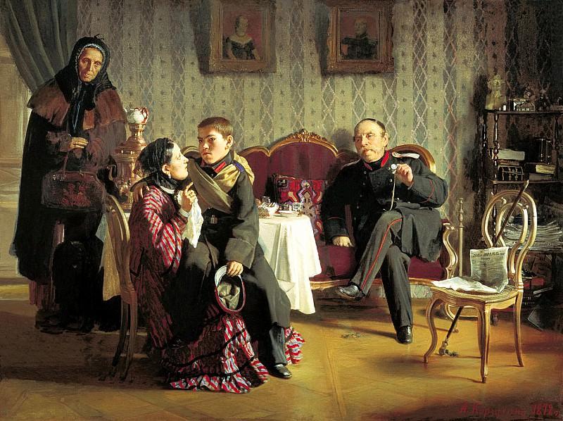 KORZUKHIN Alexei - Separation. 900 Classic russian paintings