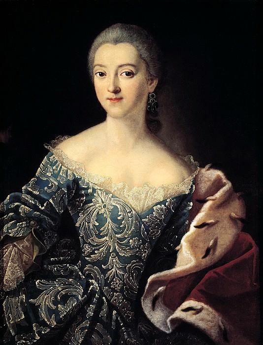 Argun Ivan - Portrait of Princess Ekaterina Alexandrovna Lobanova-Rostov. 900 Classic russian paintings