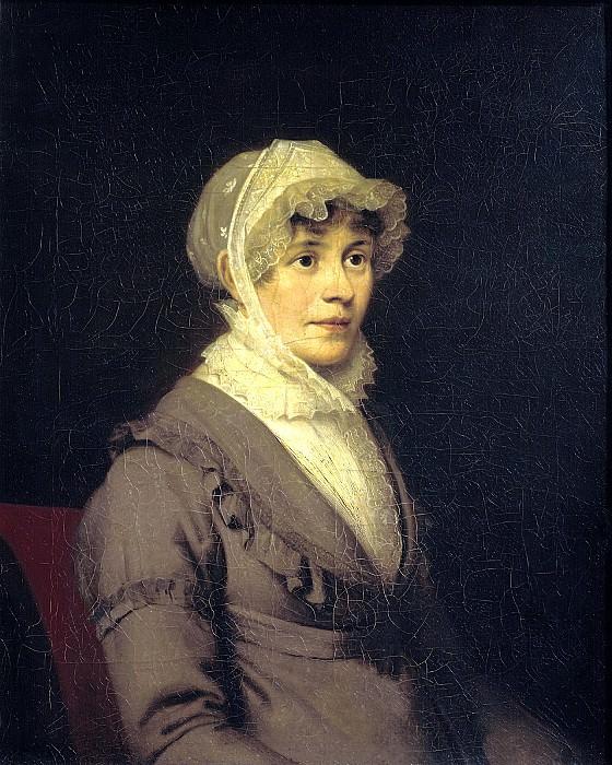 Kiprensky Orestes - Portrait of Countess Ekaterina Petrovna Rostopchina. 1809. 900 Classic russian paintings